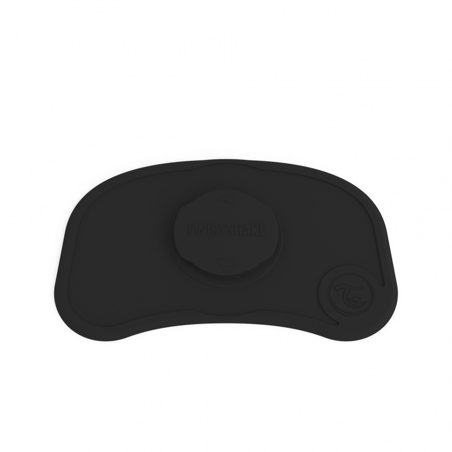 Twistshake Σουπλά Click-Mat Mini 6+μηνών Black
