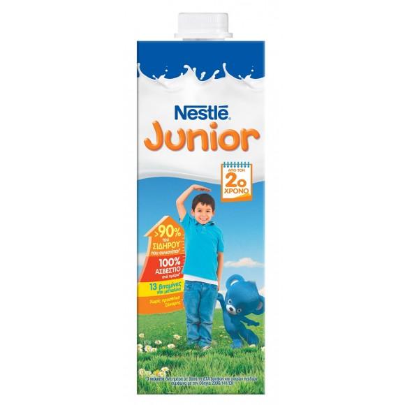 Nestle Junior Γάλα Υψηλής Παστερίωσης 1L