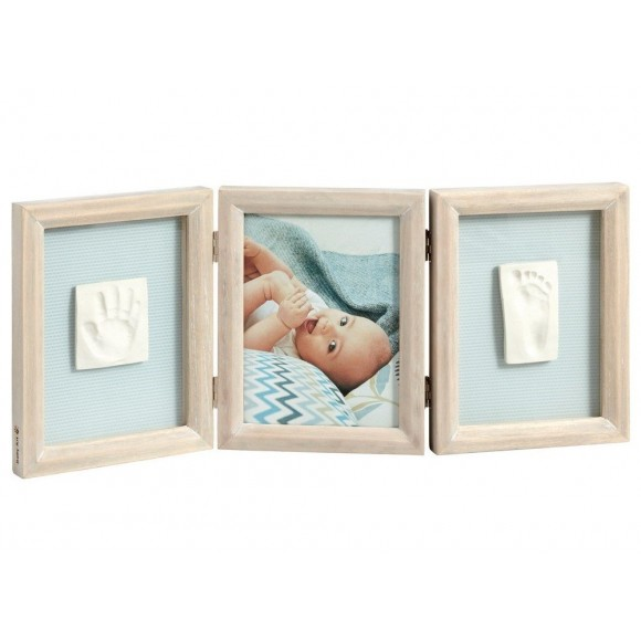 Baby Art Διπλή Κορνίζα Αποτύπωμα Double Frame Stormy
