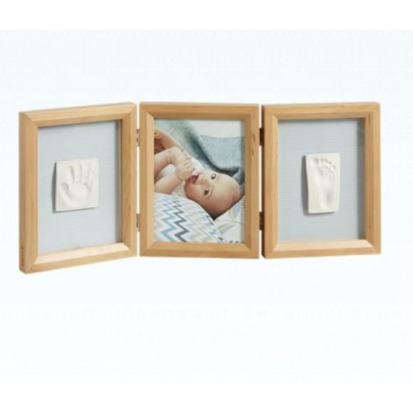 Baby Art Διπλή Κορνίζα Αποτύπωμα Double Frame Honey