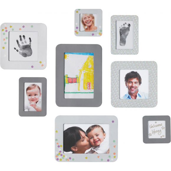 Baby Art Αυτοκόλλητες Κορνίζες 8τμχ