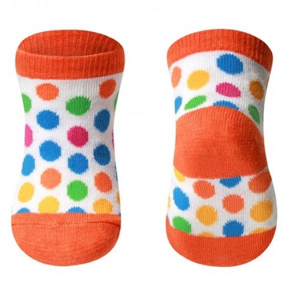 BabyOno Καλτσάκια με Πολύχρωμες Βούλες 0-6 μηνών