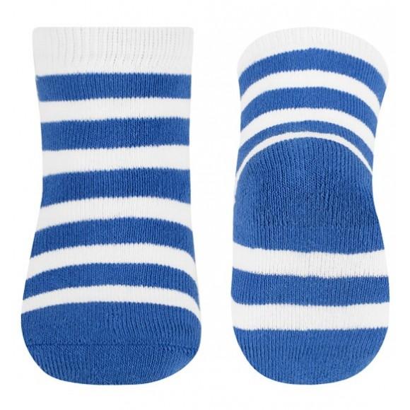 BabyOno Καλτσάκια με Ρίγα Μπλε 6-12 μηνών