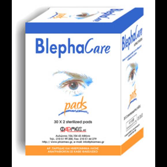 BlephaCare Αποστειρωμένες Γάζες για τον Καθαρισμό των Ματιών 30x2τμχ