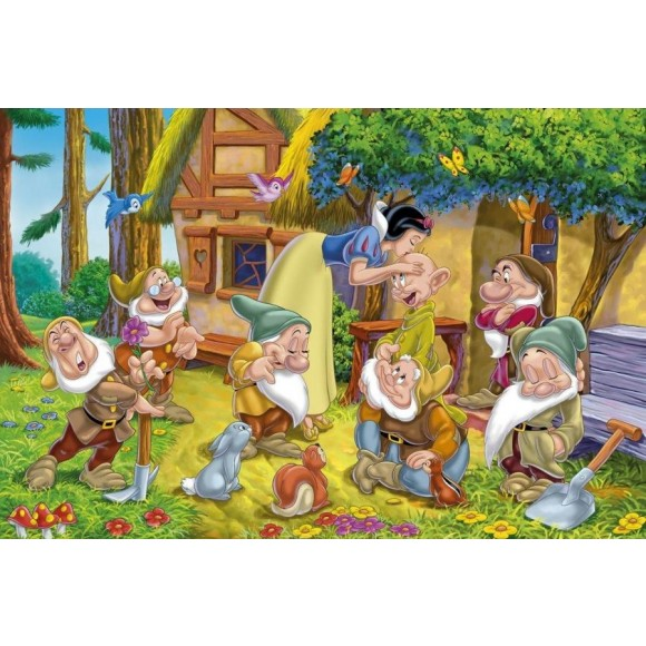Clementoni Παζλ Snow White 2x20τμχ 24501