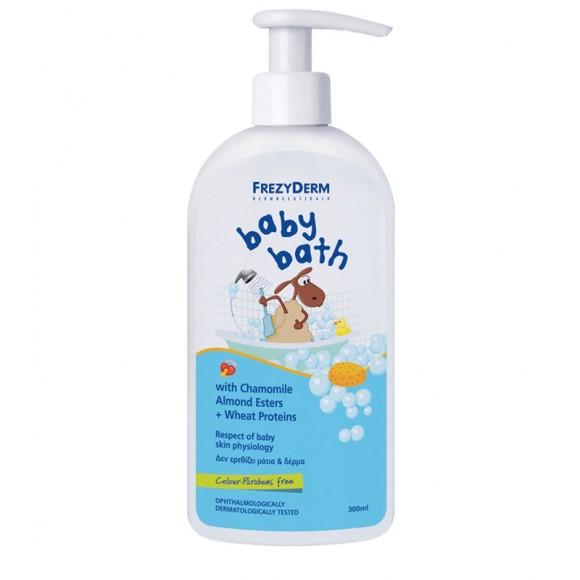 Frezyderm Baby Bath Αφρόλουτρο 200ml +100ml Δώρο