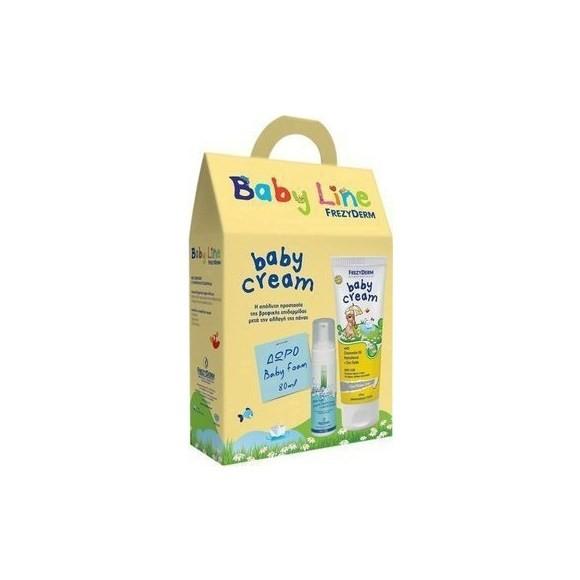 Frezyderm Baby Cream Κρέμα Αλλαγής Πάνας 175ml +Δώρο Baby Foam 80ml