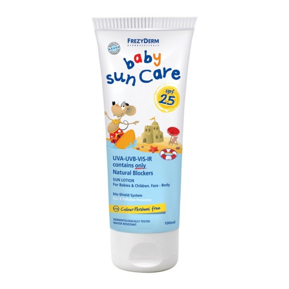 Frezyderm Baby Sun Care Αντιηλιακό Γαλάκτωμα spf 25 100ml