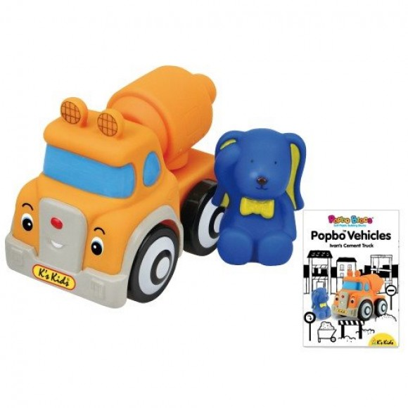 K's Kids Φορτηγό Τσιμέντου Ivan από Μαλακό Πλαστικό
