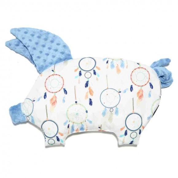 La Millou Βρεφικό Μαξιλάρι Sleepy Pig 35x40εκ Dreamcatcher White
