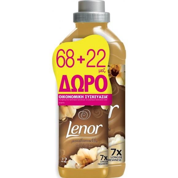 Lenor Μαλακτικό Gold Orchid 68+22μεζ ΔΩΡΟ