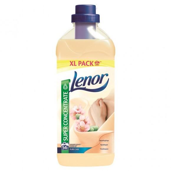 Lenor Μαλακτικό Ρούχων Almond Oils 56μεζ