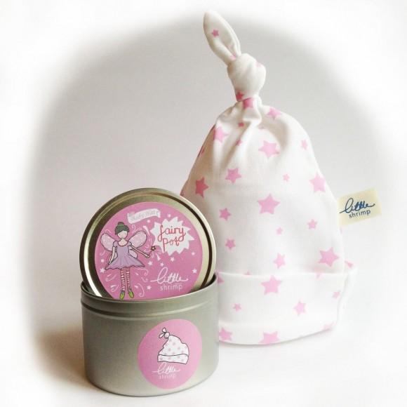 Little Shrimp Σκουφάκι Fairy με Αστεράκια για Μωράκια Ροζ