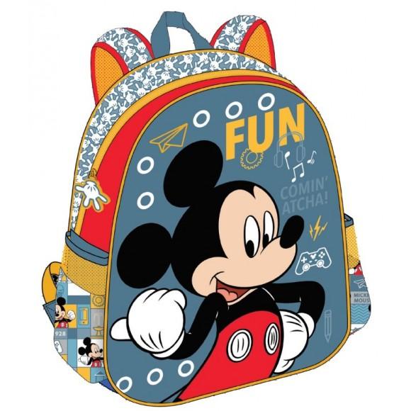 da10c02ed4 Mickey Τσάντα Πλάτης Νηπίου 25x31x10cm