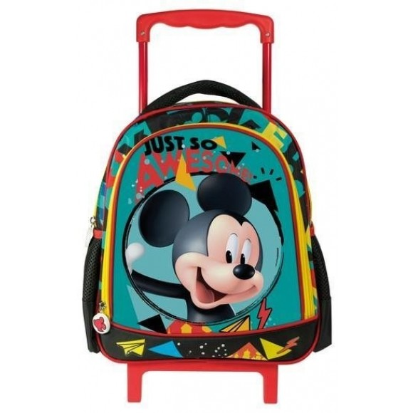 021d320282 Mickey Τσάντα Πλάτης Τρόλεϊ Νηπίου MC14 27x31x10cm