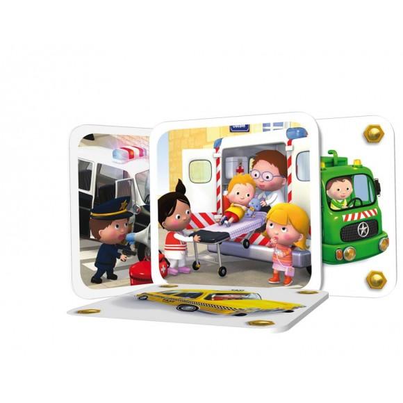 ΔΚΒ Μικροί Ήρωες No 2 - Παιχνίδι μνήμης με 32 Κάρτες