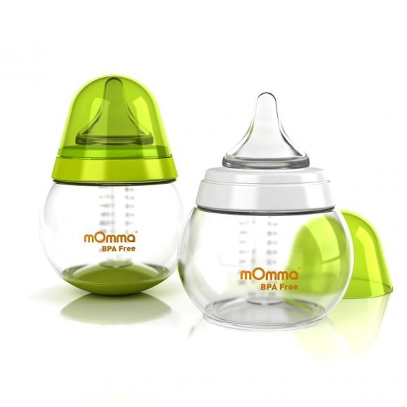 mOmma Σετ Μπιμπερό με Θηλές Διαφορετικής Ροής Χωρίς BPA