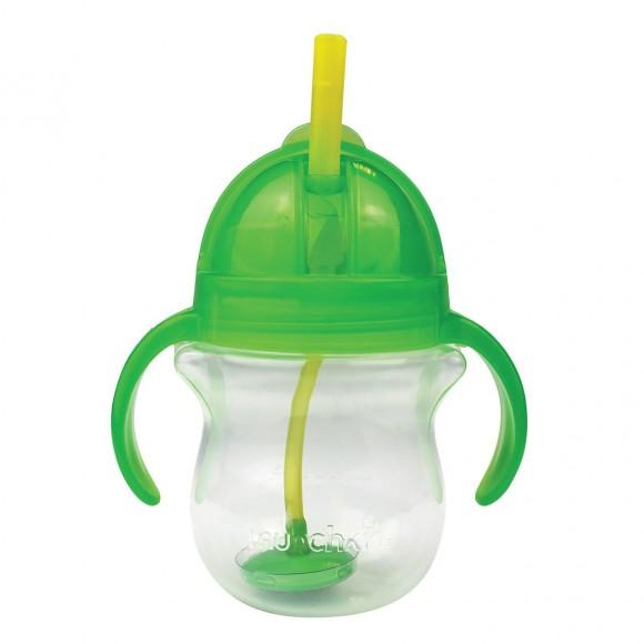 Μunchkin Ποτηράκι με Καλαμάκι Click Lock 207ml Πράσινο