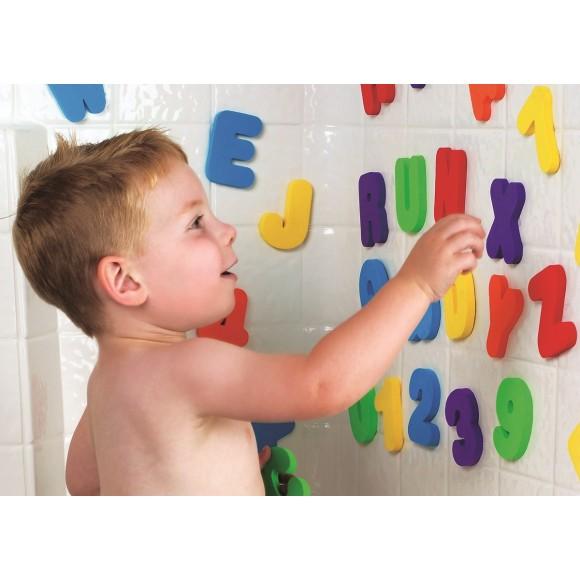 Munchkin Παιχνίδι Μπάνιου με Γράμματα και Αριθμούς