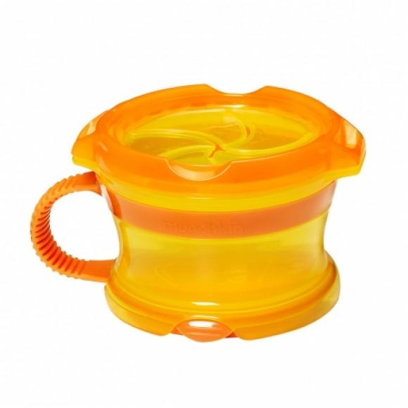 Munchkin Δοχείο Click Lock για Σνακ Κίτρινο