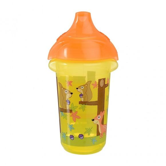 Munchkin Κύπελλο με Στόμιο Click Lock 266ml Κίτρινο