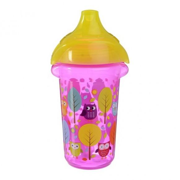 Munchkin Κύπελλο με Στόμιο Click Lock 266ml Ροζ