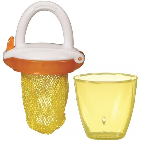 Munchkin Δίχτυ για Στερεές Τροφές Κίτρινο