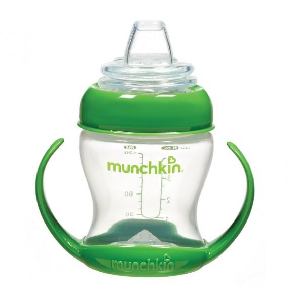 Munchkin Παιδικό Κύπελλο Ποτηράκι 120ml Πράσινο