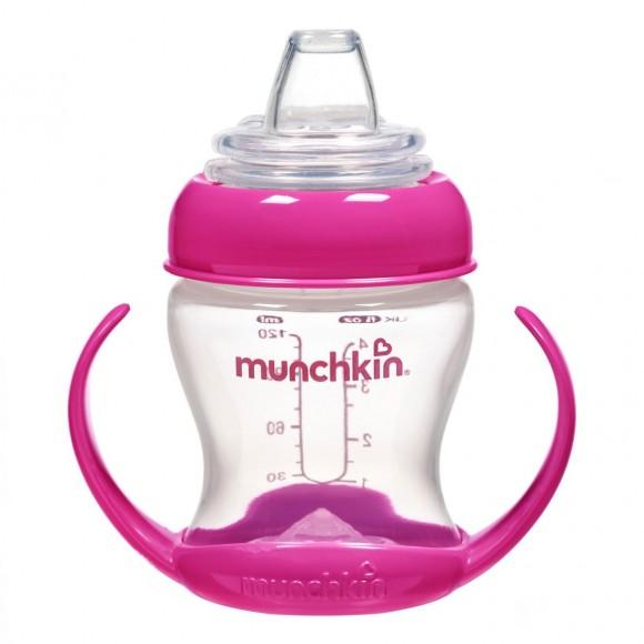 Munchkin Παιδικό Κύπελλο Ποτηράκι 120ml Ροζ