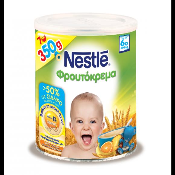 Nestle Βρεφική Φρουτόκρεμα 350g