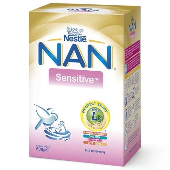 Nestle Γάλα Nan Sensitive 500gr