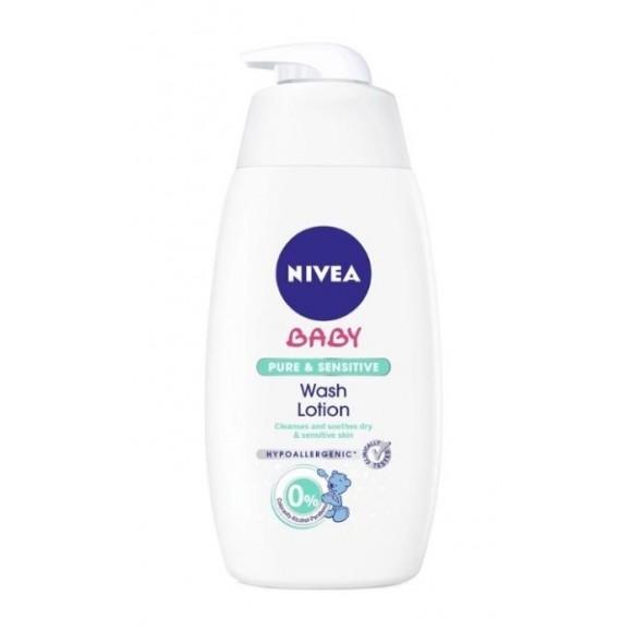 Nivea Αφροσάπουνο για Μαλιά & Σώμα Pure & Sensitive 500ml