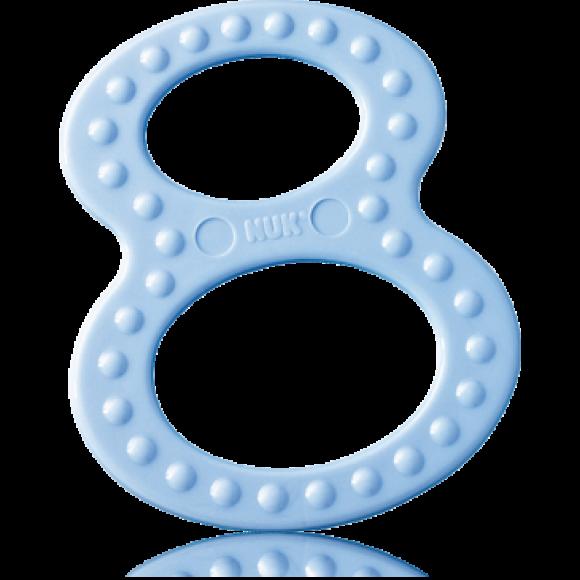 NUK Δακτύλιος Οδοντοφυΐας 2τμχ Γαλάζιο Λευκό