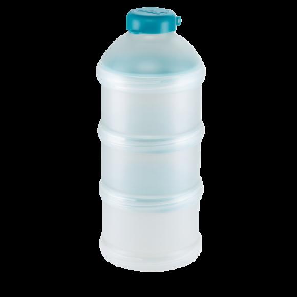 NUK Δοσομετρητής Σκόνης Γάλακτος με Κλιπ & Καπάκι push-pull Μπλε