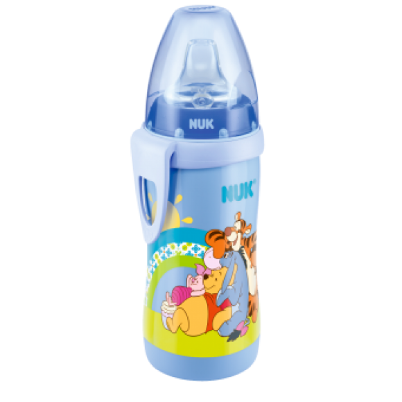 NUK Παγουράκι Active Cup Disney Winnie 300ml Γαλάζιο