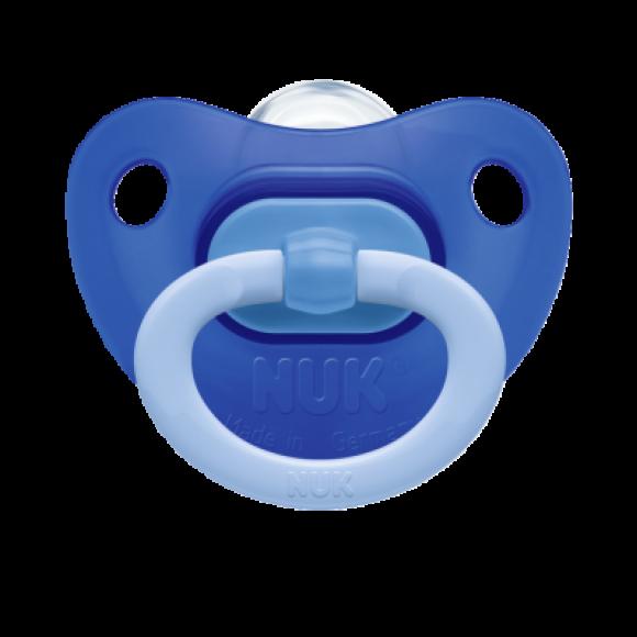 NUK Πιπίλα Fashion Σιλικόνης 6-18m Μπλε