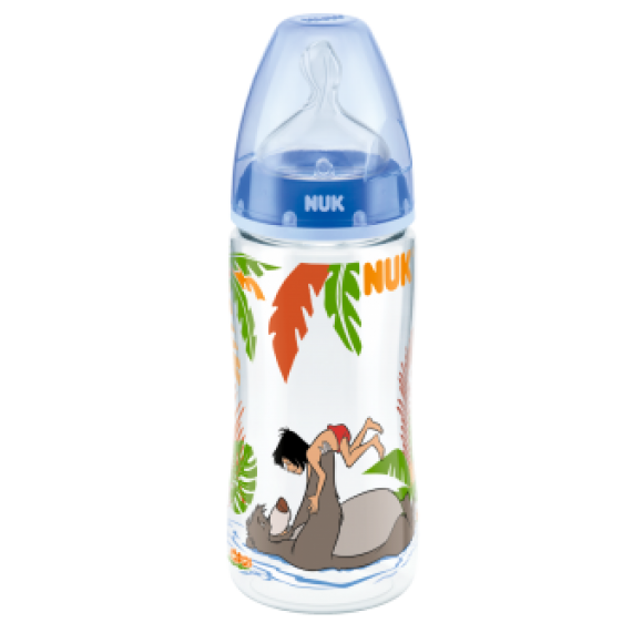 NUK Μπιμπερό First Choice Disney Junglebook 300ml Μπλε