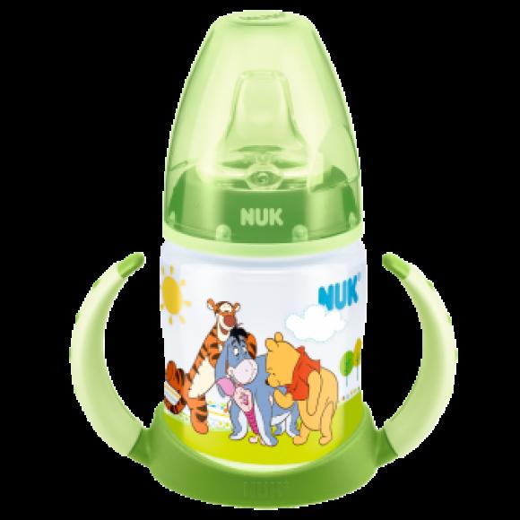 NUK Μπιμπερό Εκπαίδευσης First Choice Disney Winnie 150ml Πράσινο
