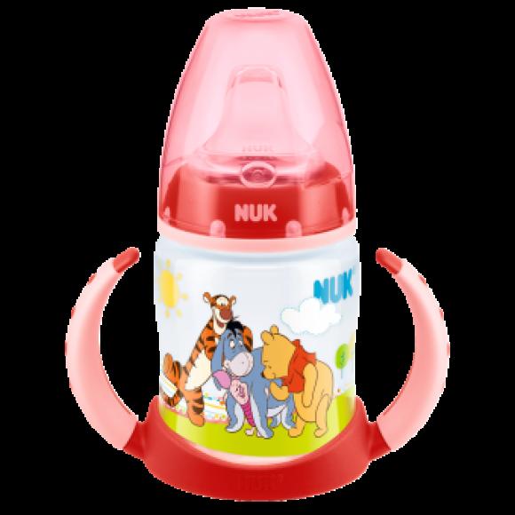 NUK Μπιμπερό Εκπαίδευσης First Choice Disney Winnie 150ml Κόκκινο