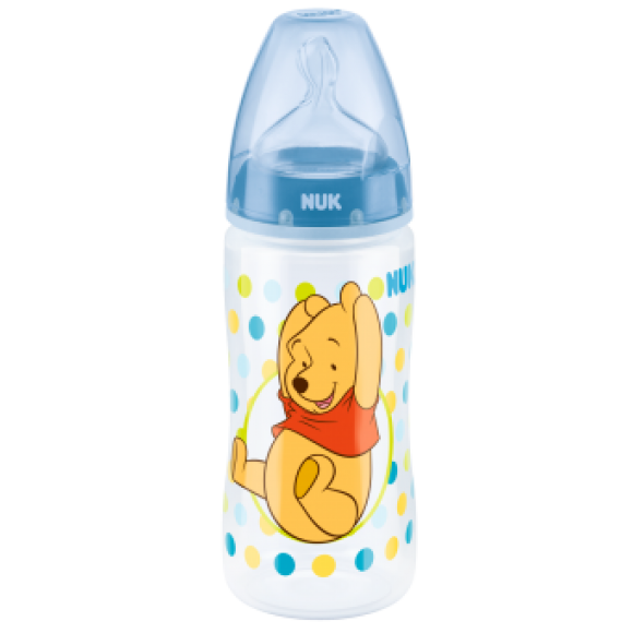 NUK Μπιμπερό First Choice Disney Winnie 300ml Μπλε