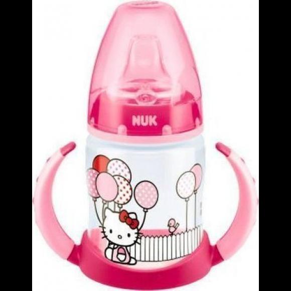 NUK Μπιμπερό Εκπαίδευσης First Choice Hello Kitty 150ml Ροζ