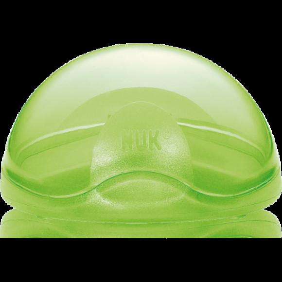 NUK Θήκη για Πιπίλα Πράσινη