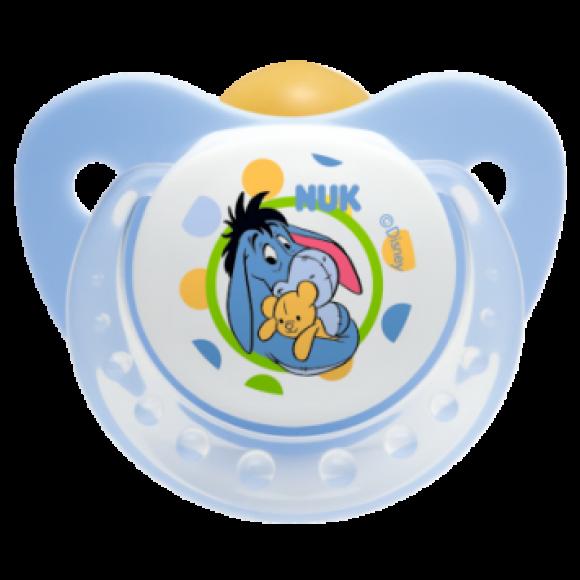NUK Πιπίλα Disney Καουτσούκ 0-6m Γαλάζια