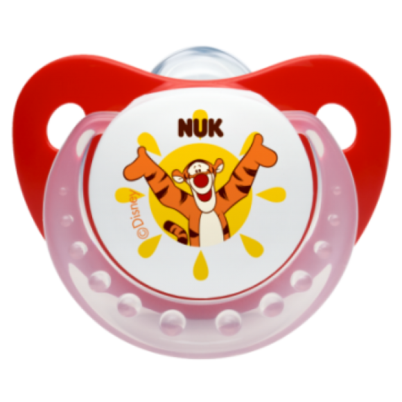 NUK Πιπίλα Disney Σιλικόνης 6-18m Κόκκινη