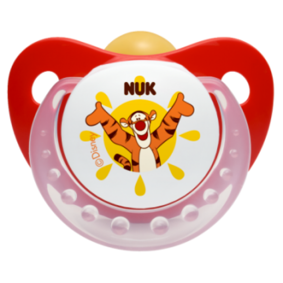 NUK Πιπίλα Disney Καουτσούκ 0-6m Κόκκινη