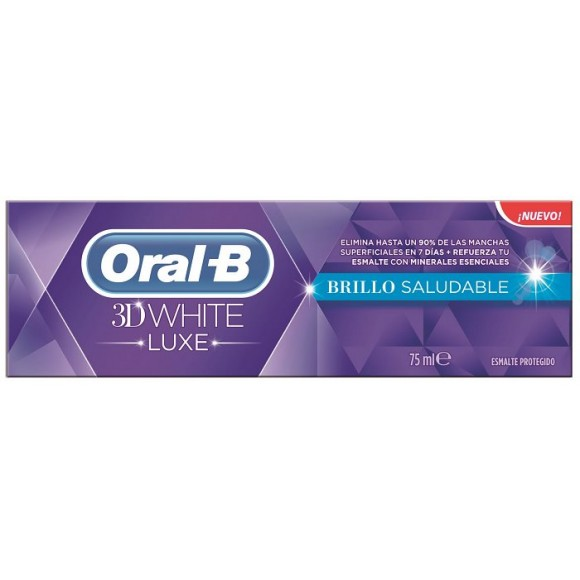 Oral B οδοντόκρεμα 3D White Luxe Healthy Shine 75ml