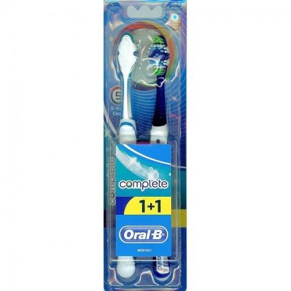 Oral B Οδοντόβουρτσα Complete 5 Way 40 Μέτρια 1+1
