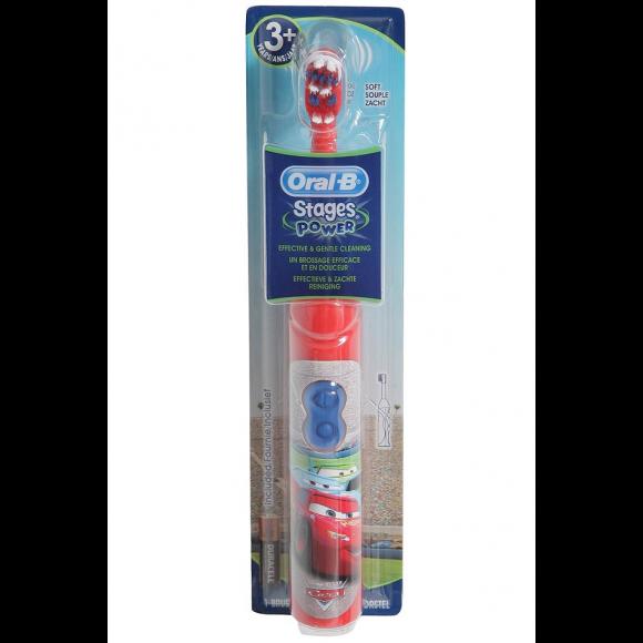 Oral B Παιδική Ηλεκτρική Οδοντόβουρτσα Stages Power Cars 3+Ετών