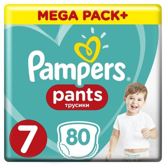 e438138302a Πάνες Βρακάκι Pampers Pants Νο 7 Mega Box 80τμχ (17+kg ...