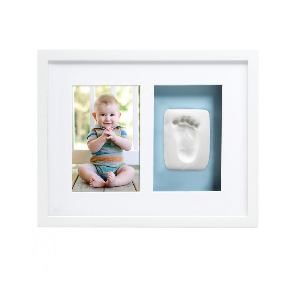 Pearhead Babyprints Κορνίζα Αποτύπωμα Delux Λευκή